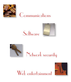 Communications, Software, Network security, Web entertainment